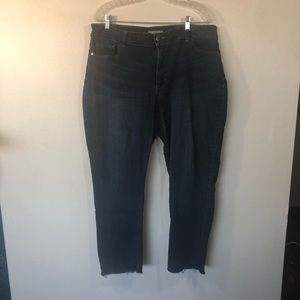 2fe092a9 Riders By Lee Womens Jeans 18 Mid Rise Curvy Fit